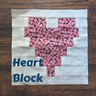 Heart Strip Block