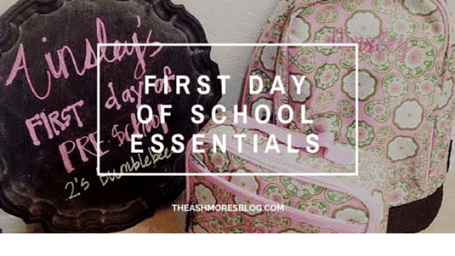 Back To School Essentials The Ashmores Blog