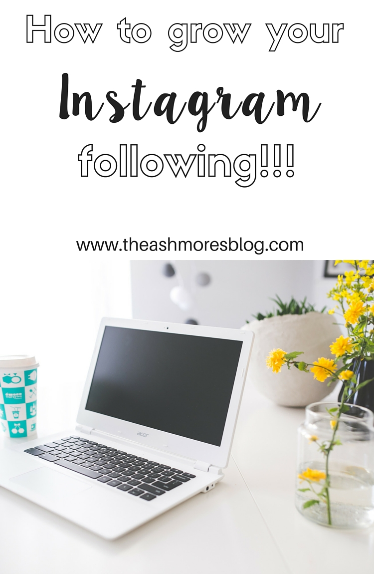 How to grow your Instagram!