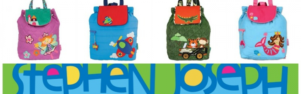Stephen Joseph Backpack Collage