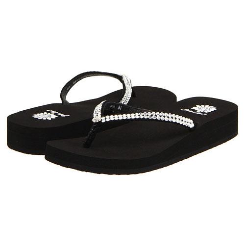 Yellow Box Jello Black Women's Sandals