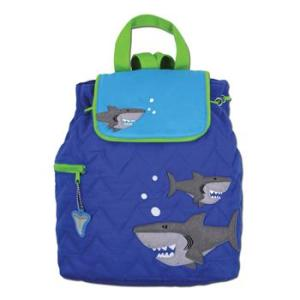 stephen-joseph-shark-quilted-backpack