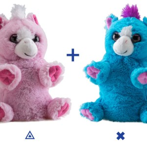switch-a-rooz-pony-blue-pink-stuffed-animal