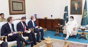 British Foreign Secretary Dominic Raab Meets Prime Minister Imran Khan