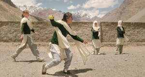 girls on the mountaintops to play Cricket in Hunza district of Pakistan