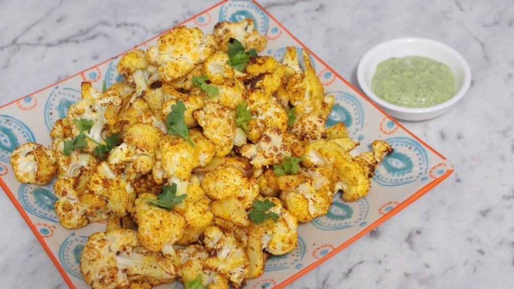Tandoori Spiced Cauliflower