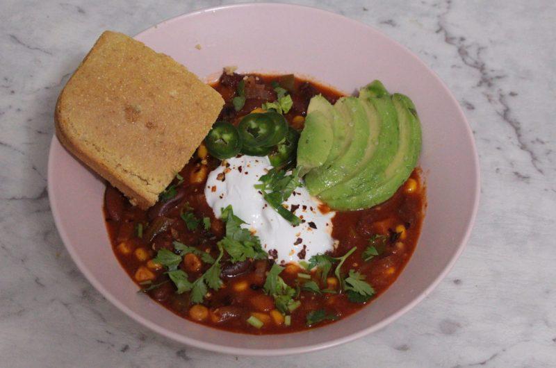 Vegan Jalapeno Cornbread