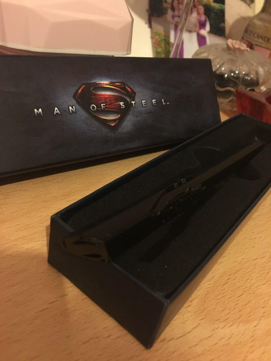Man of Steel Command Key Pen
