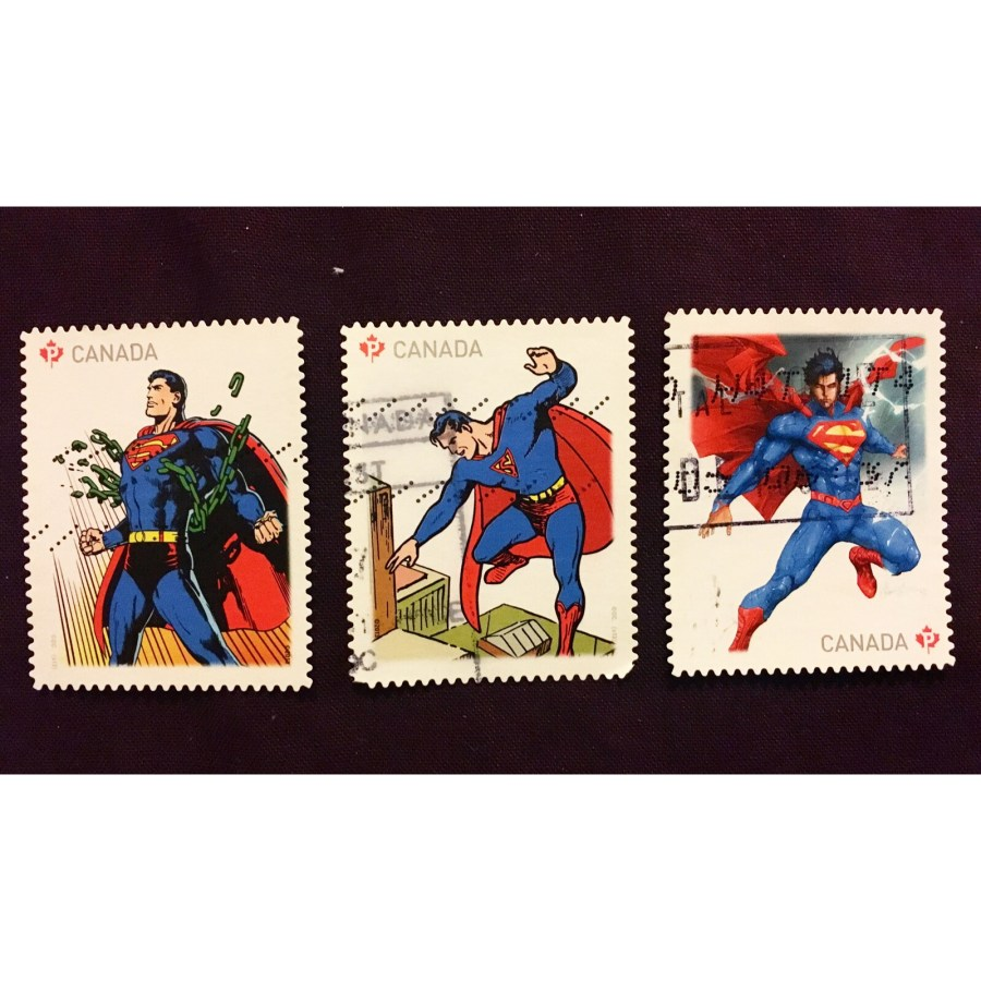 Canadian Superman Stamps