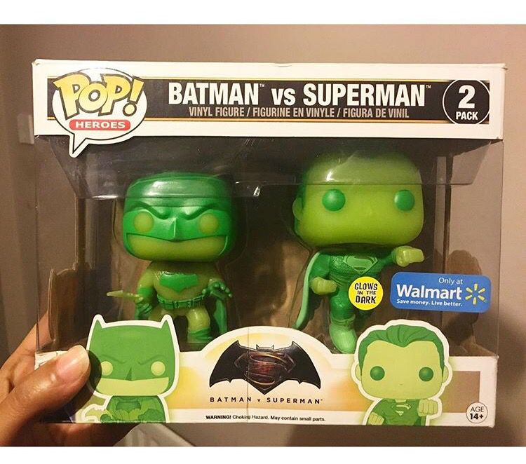 Batman Vs Superman Twin Pack - Funko Pop Heroes