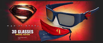 Superman Real 3D Glasses