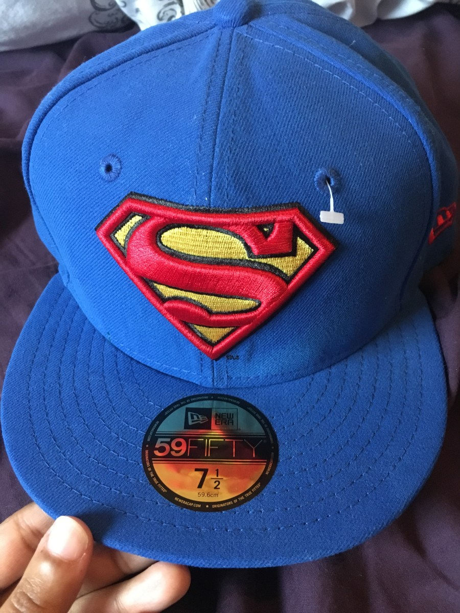 New Era Superman Cap