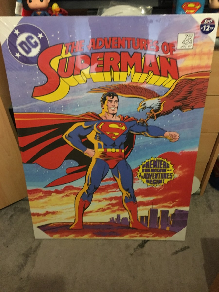 The Adventures of Superman Canvas