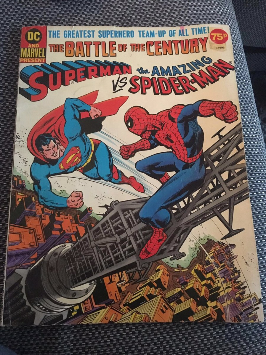 Superman VS The Amazing Spider-Man Comic - First Edition.