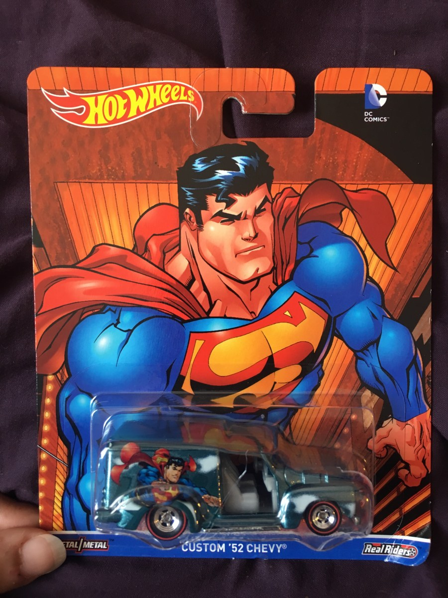 Superman Hot Wheels Car