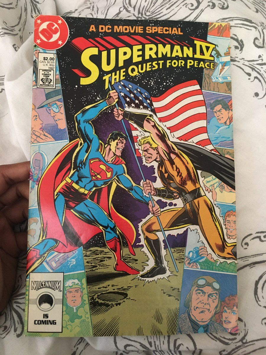 Superman IV: The Quest For Peace Comic - A DC Movie Special
