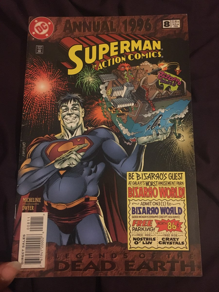 Superman in Action Comics - Annual 1996 Comic - Issue 8