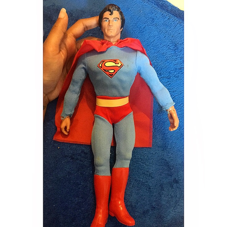 "12"" Christopher Reeve Mego Superman Doll"