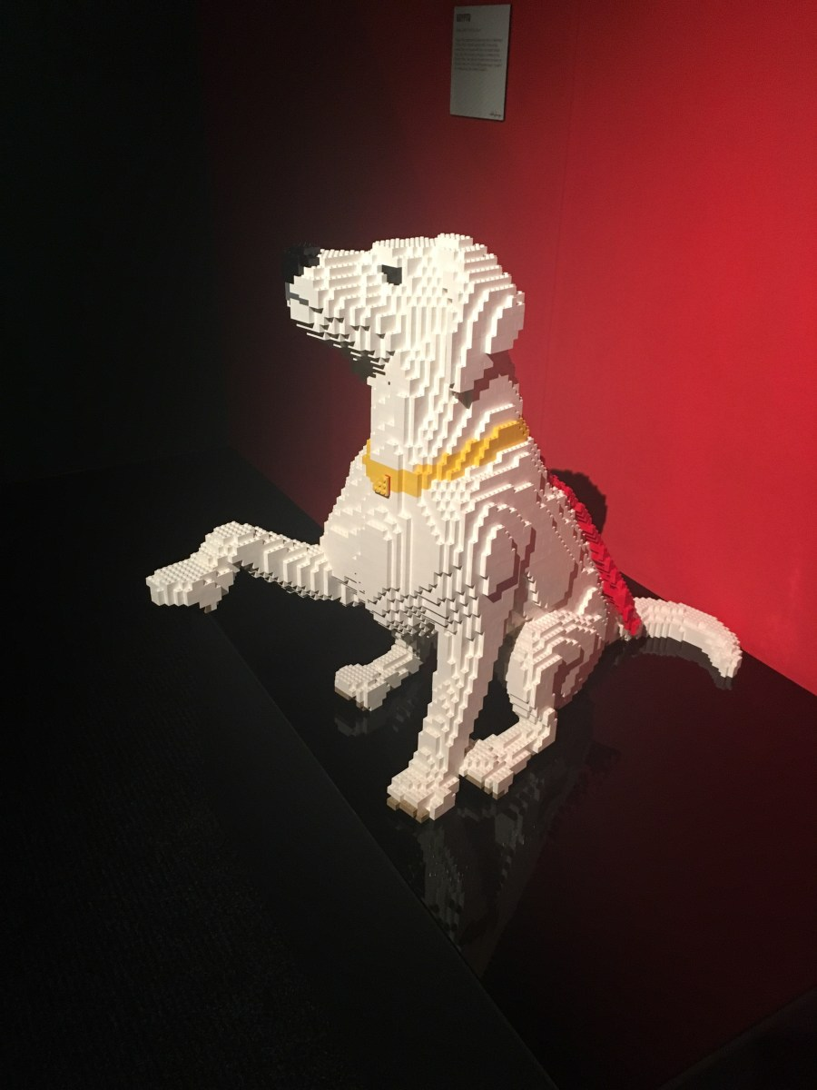 Krypto the SuperDog - Lego Sculpture