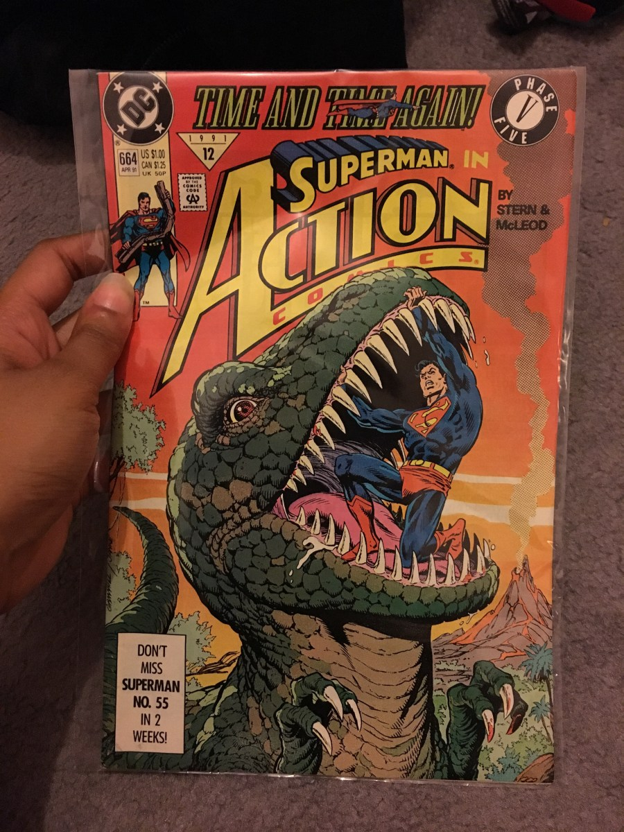 Superman in Action Comics - Issue 664