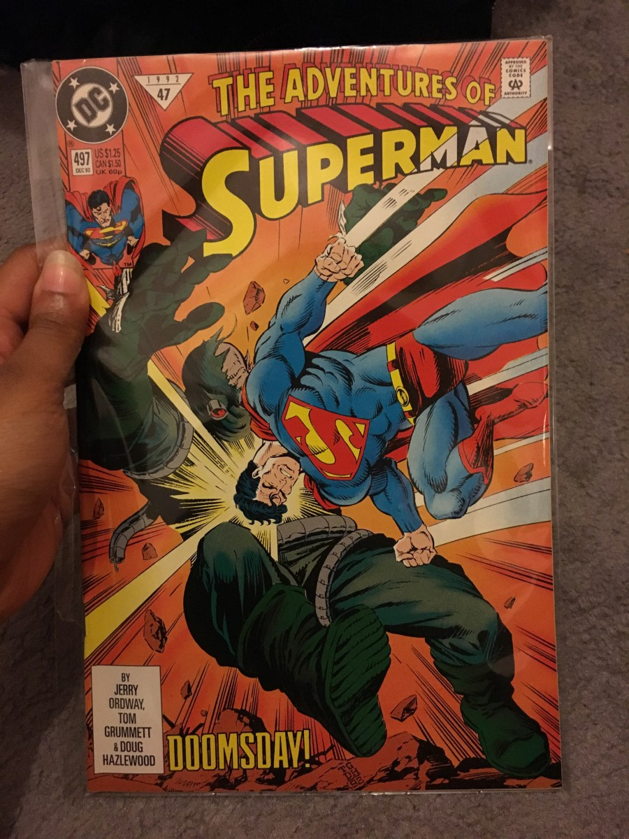 The Adventures of Superman Comic - Issue 497
