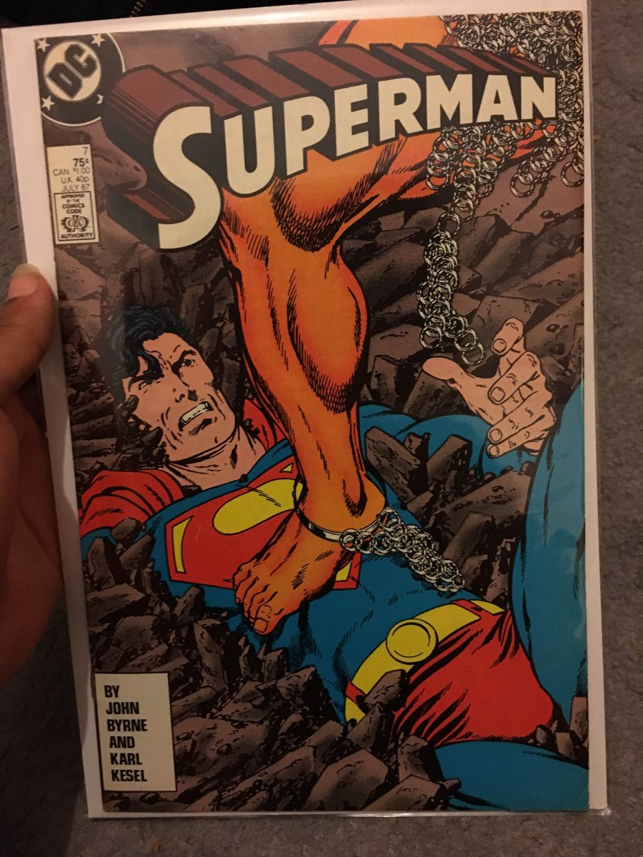 Superman Vol 2 Comic - Issue 7