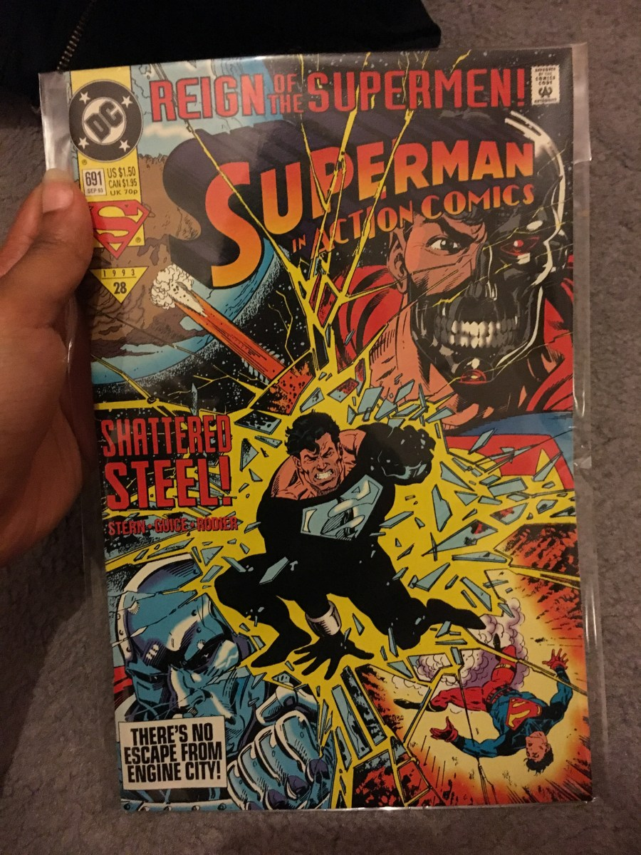 Superman in Action Comics - Issue 691
