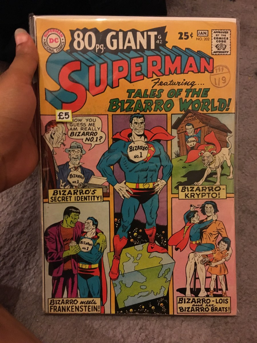 Superman Vol 1 - Issue 202 Comic