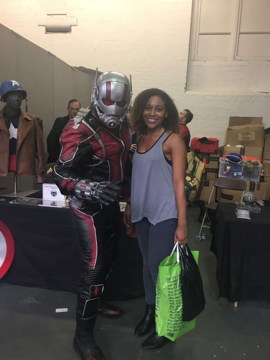 Antman Cosplay at LFCC