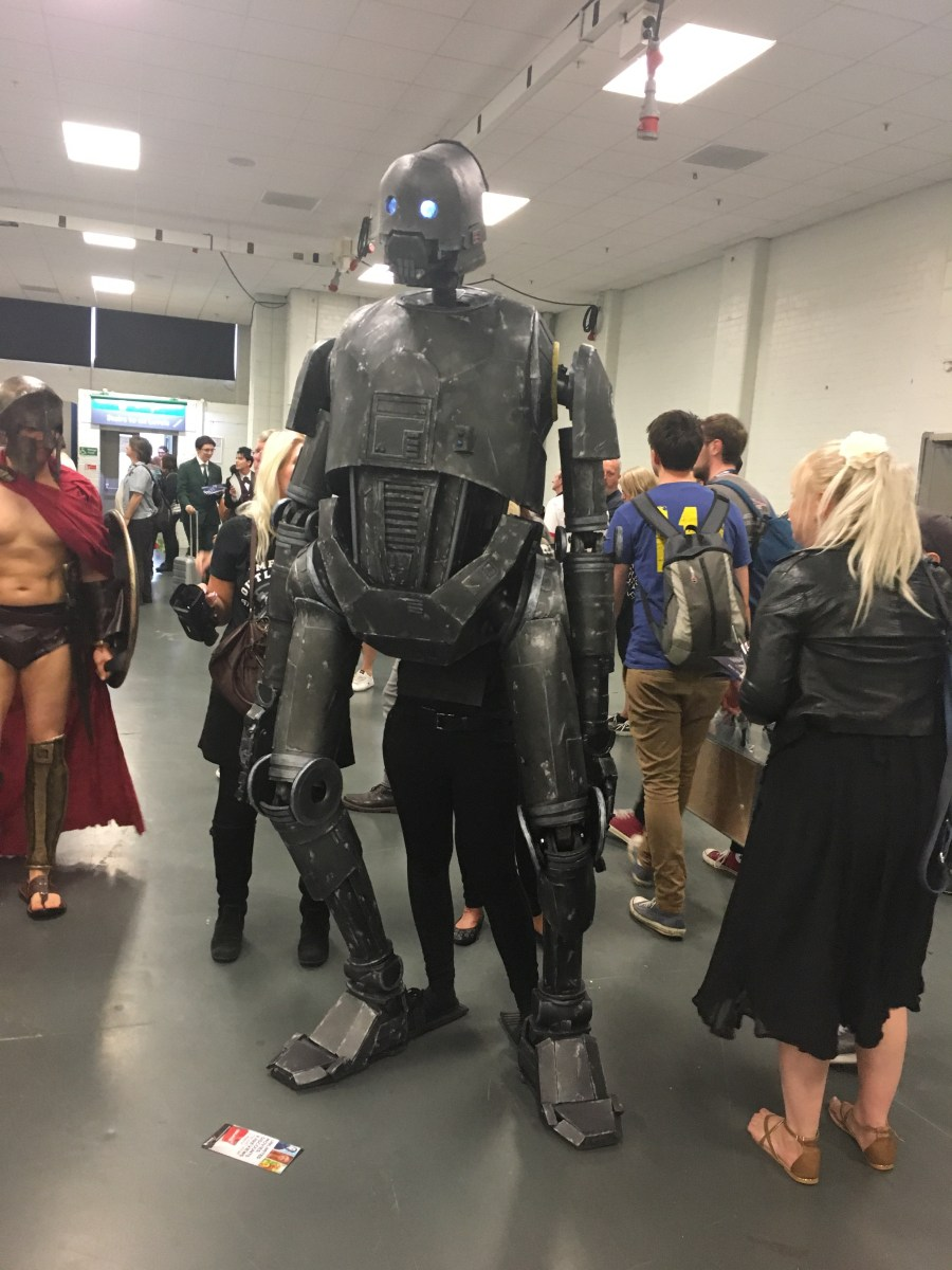 K-2SO from Rogue One Cosplay