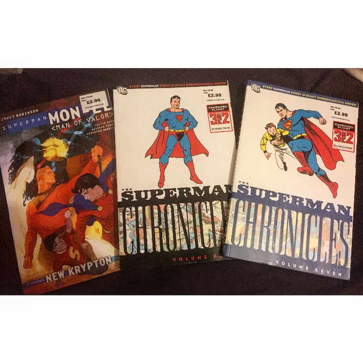 Superman: Mon-El Graphic Novel, and Superman Chronicles 4 & 7