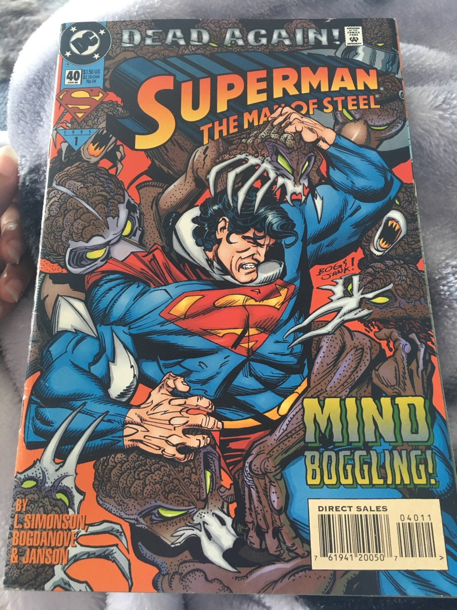 Superman: The Man of Steel Comic - Issue 40