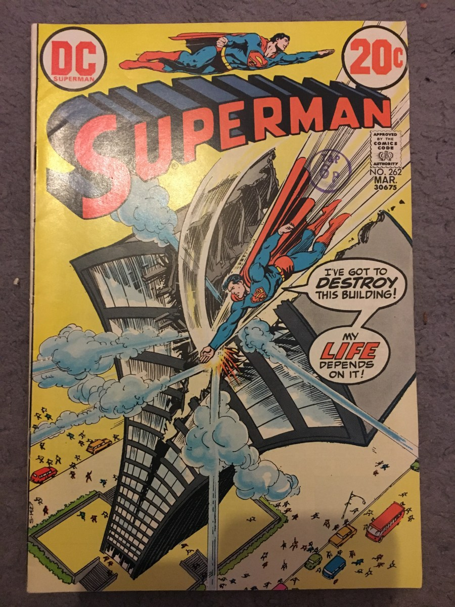 Superman Vol 1 Comic - Issue 262