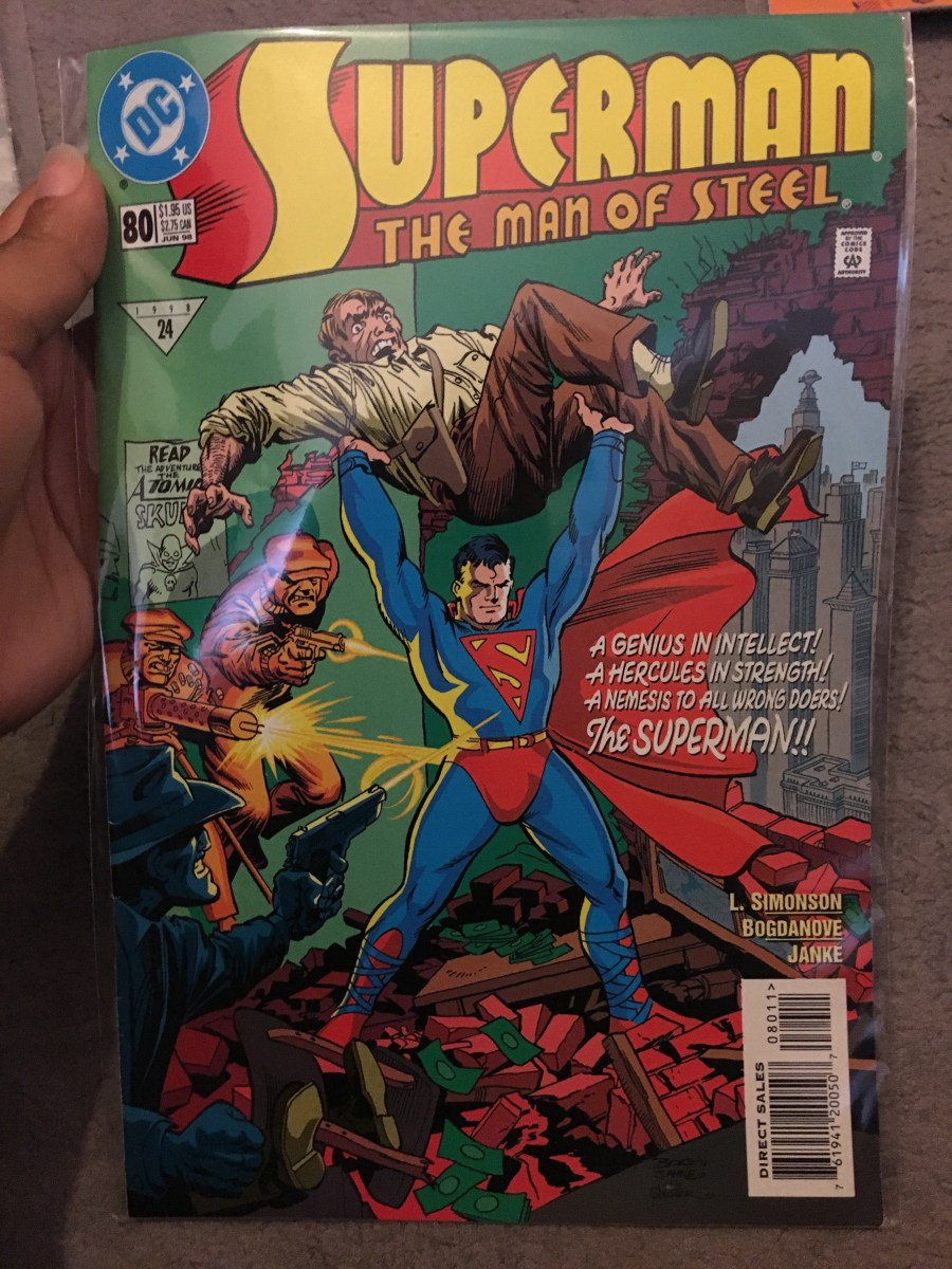 Superman: The Man of Steel Comic - Issue 80