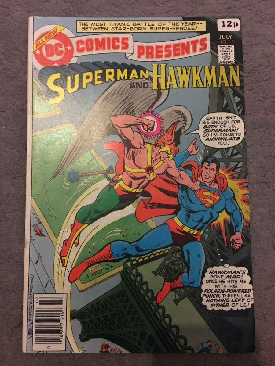 DC Comics' Presents - Superman & Hawkman, Issue 11.