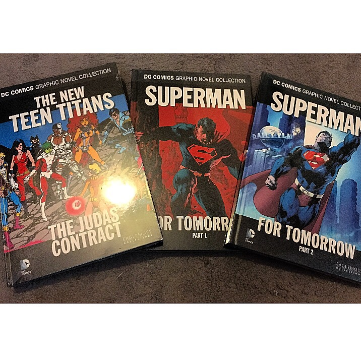 Eaglemoss Collections Graphic Novels: The New Teen Titans, Superman for Tomorrow - Part 1&2
