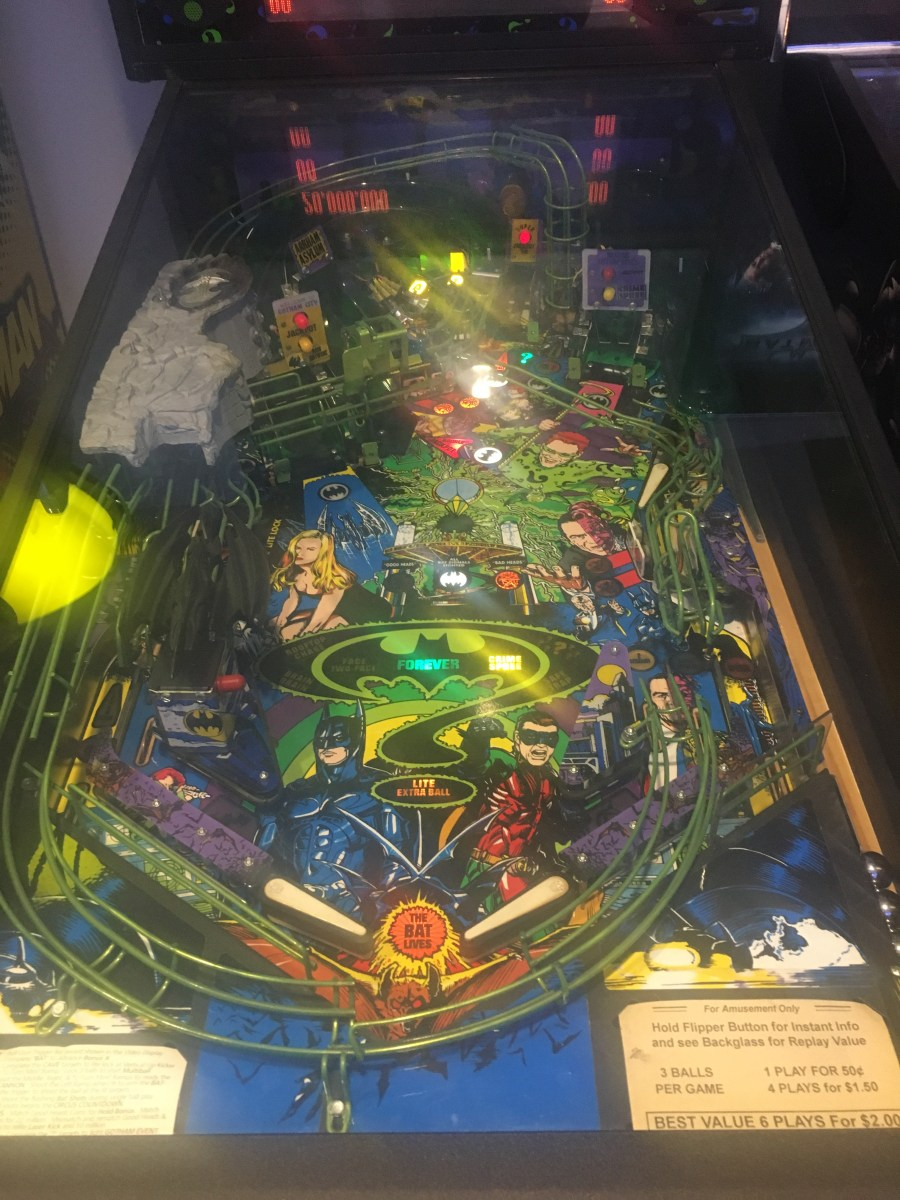 Batman Arcade Games - DC Comics Office