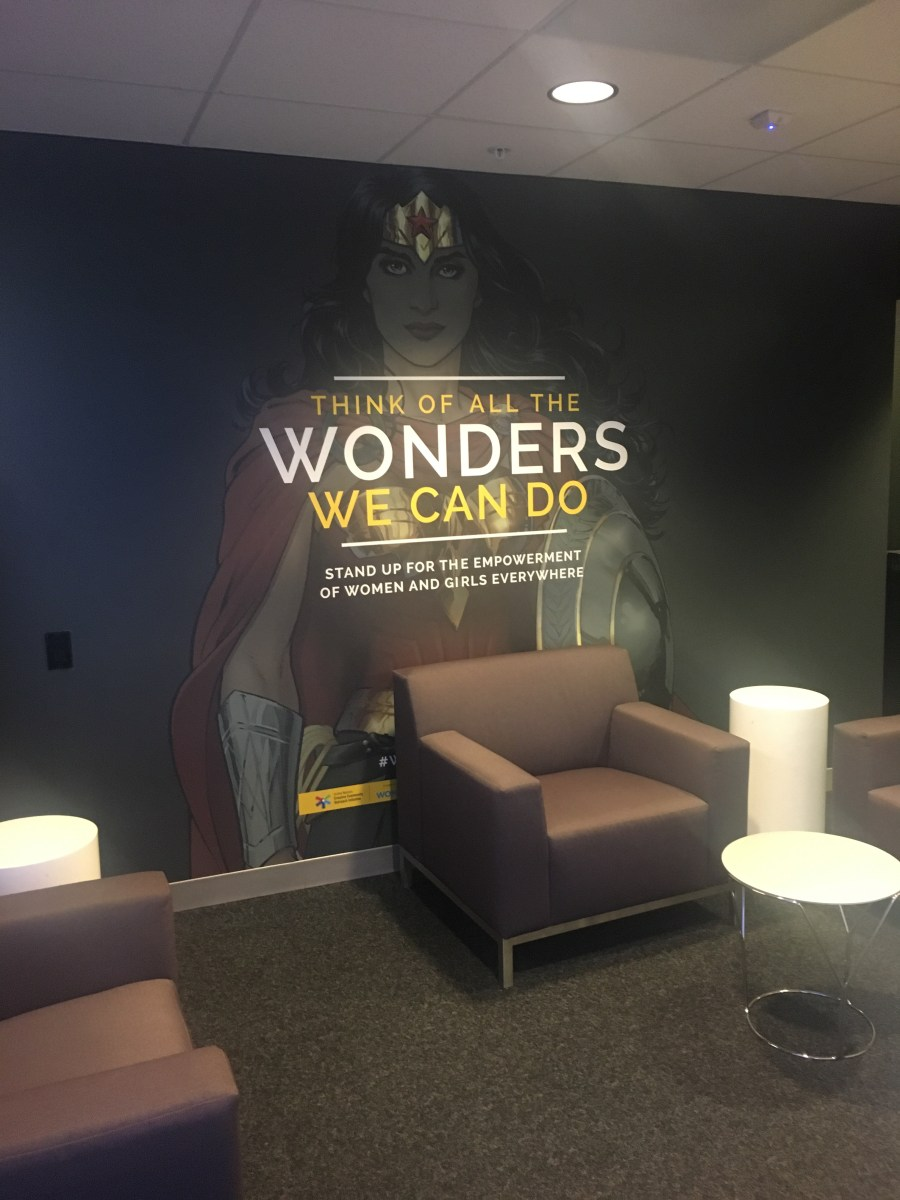 DC Comics Office - Artwork Wonder Woman
