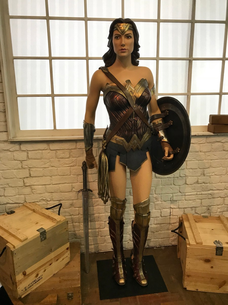 The Justice League Experience, London - Wonder Woman
