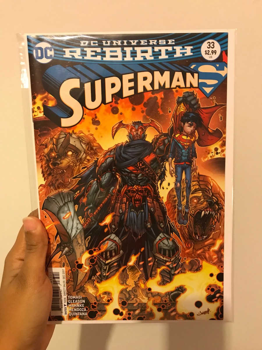 Superman Vol 4 - Issue 33B - Variant Cover