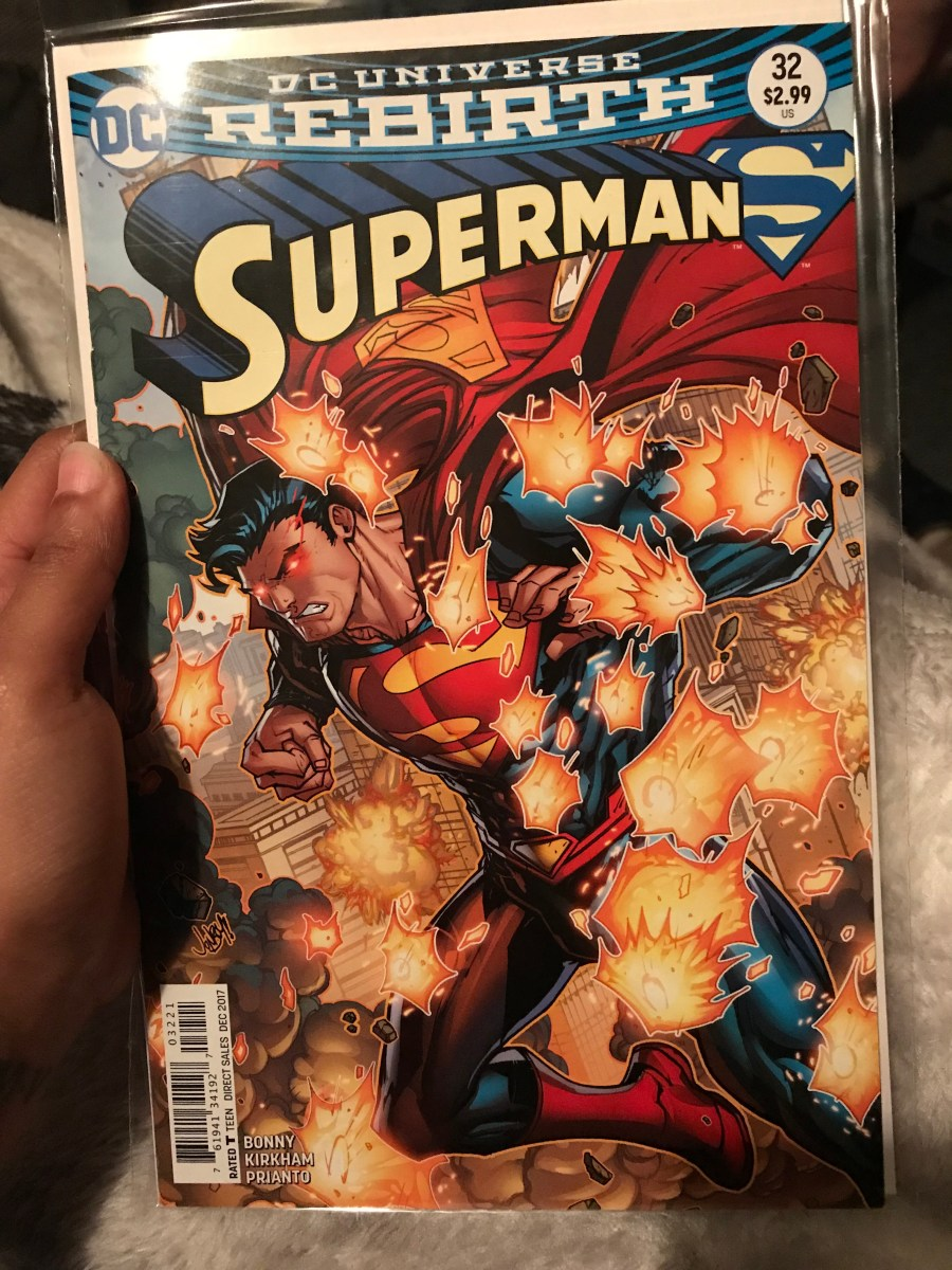 Superman Vol 4 - Issue 32B - Variant Cover