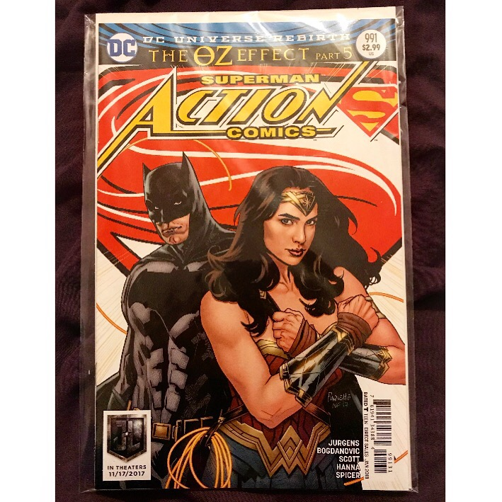 Action Comics Vol 3 - Issue 991C - Justice League Variant Cover