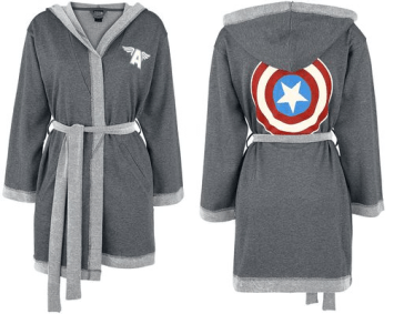 Captain America Dressing Gown by Her Universe