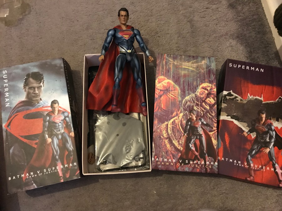 Crazy Toys – Batman V Superman Figurine