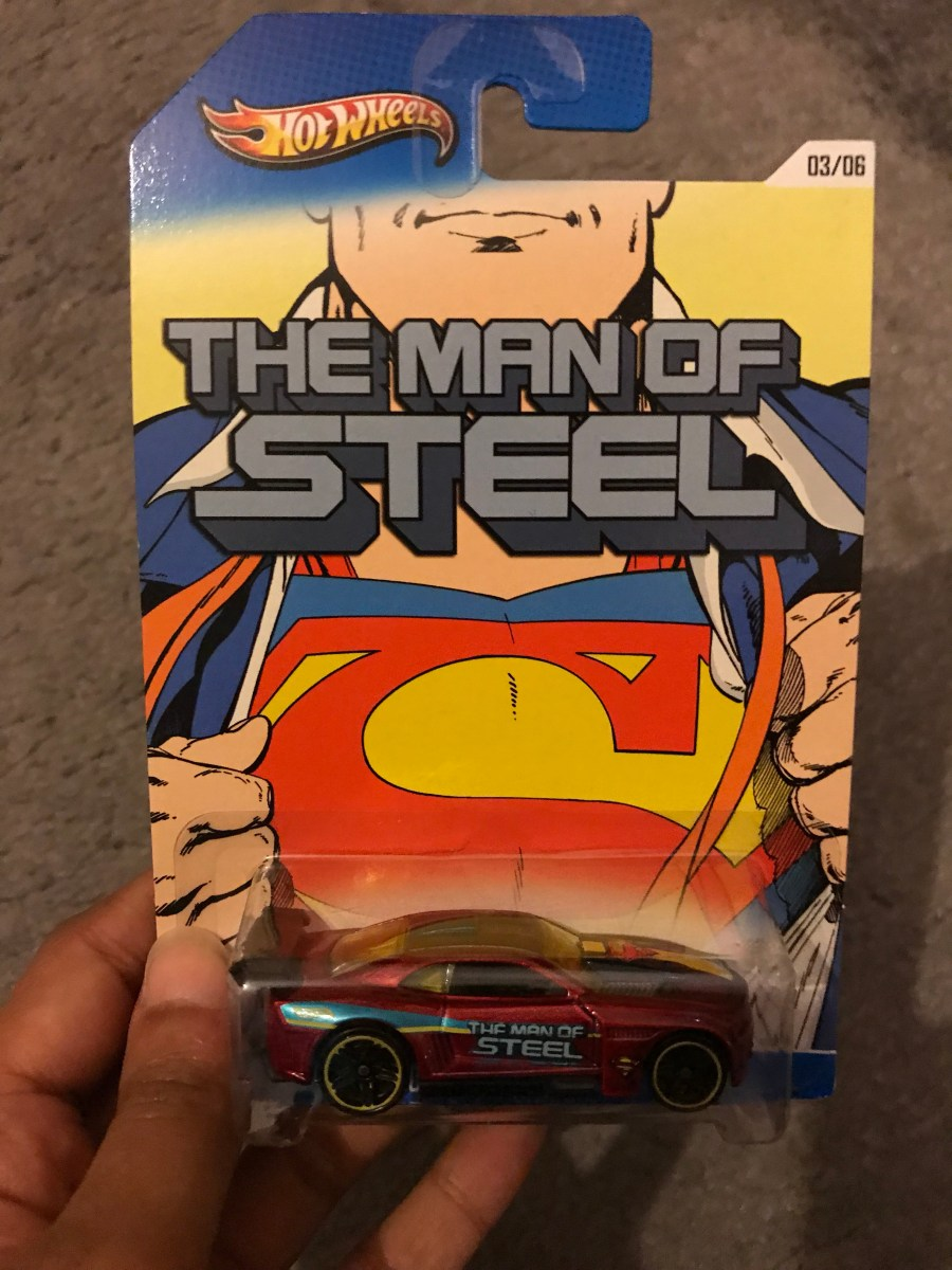 Hot Wheels: The Man of Steel Vehicle – 3/6