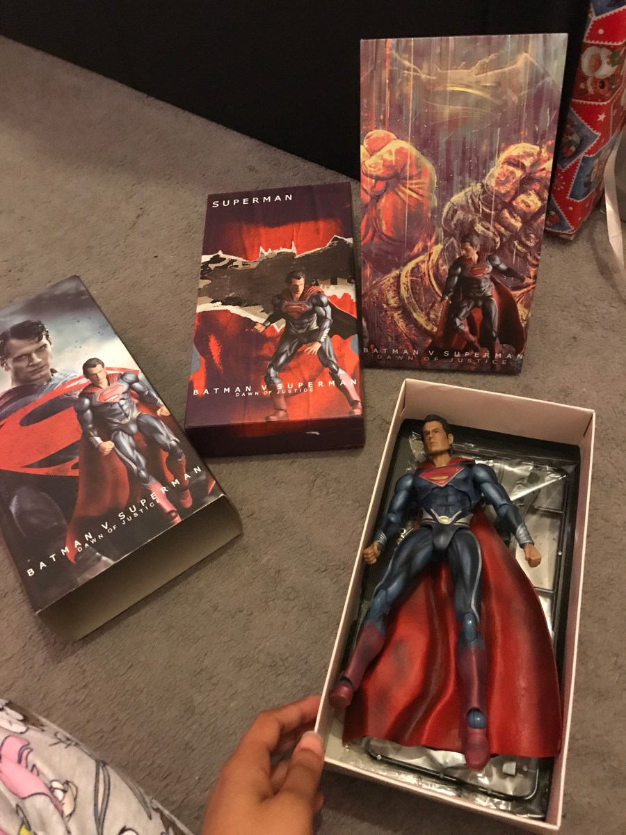 Crazy Toys; Batman V Superman: Dawn of Justice, Superman Figurine.