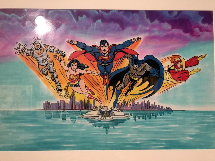 Superfriends Original Artwork