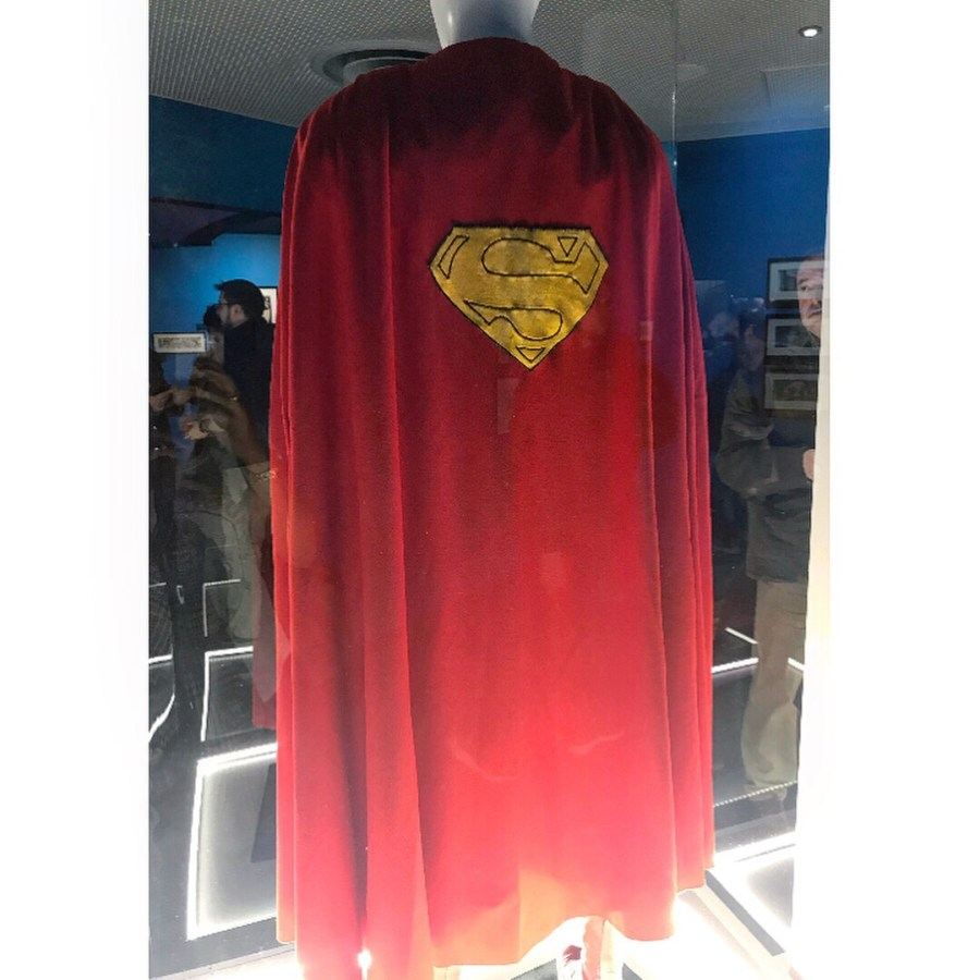 Christopher Reeve's Cape in Superman: The Movie