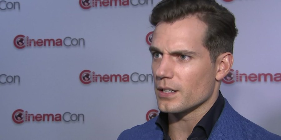 Henry Cavill Superman Cinemacon