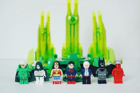 Alex Ross Lego Kingdom Come SDCC Exclusive